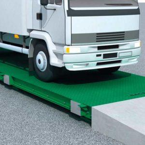 Báscula para camiones sobresuelo metálica Granit