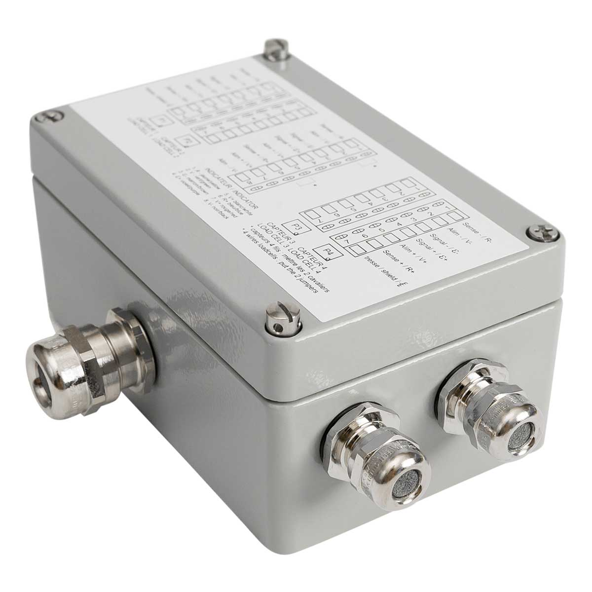 Junction Box Cpr4 Ex Bacsa 4 Wire Load Cell Wiring