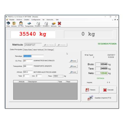Software Bacsa PW2012